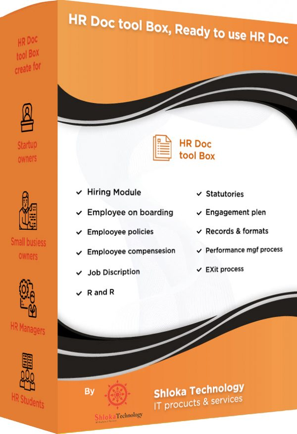 HRDoc ToolBox ready-to-use HR templates